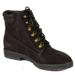 New Ralph Lauren Suede Lace Up Boot Shoes